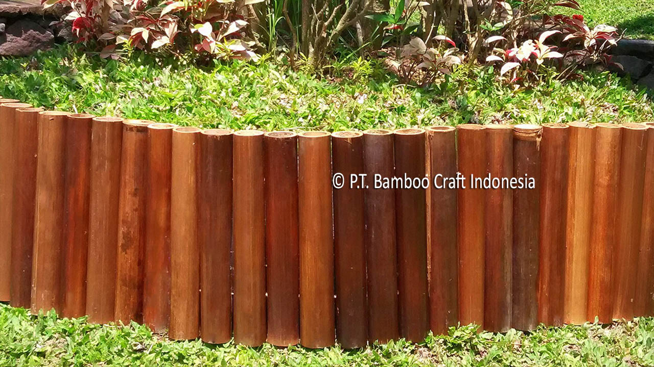 Bamboo Garden Border Indonesia