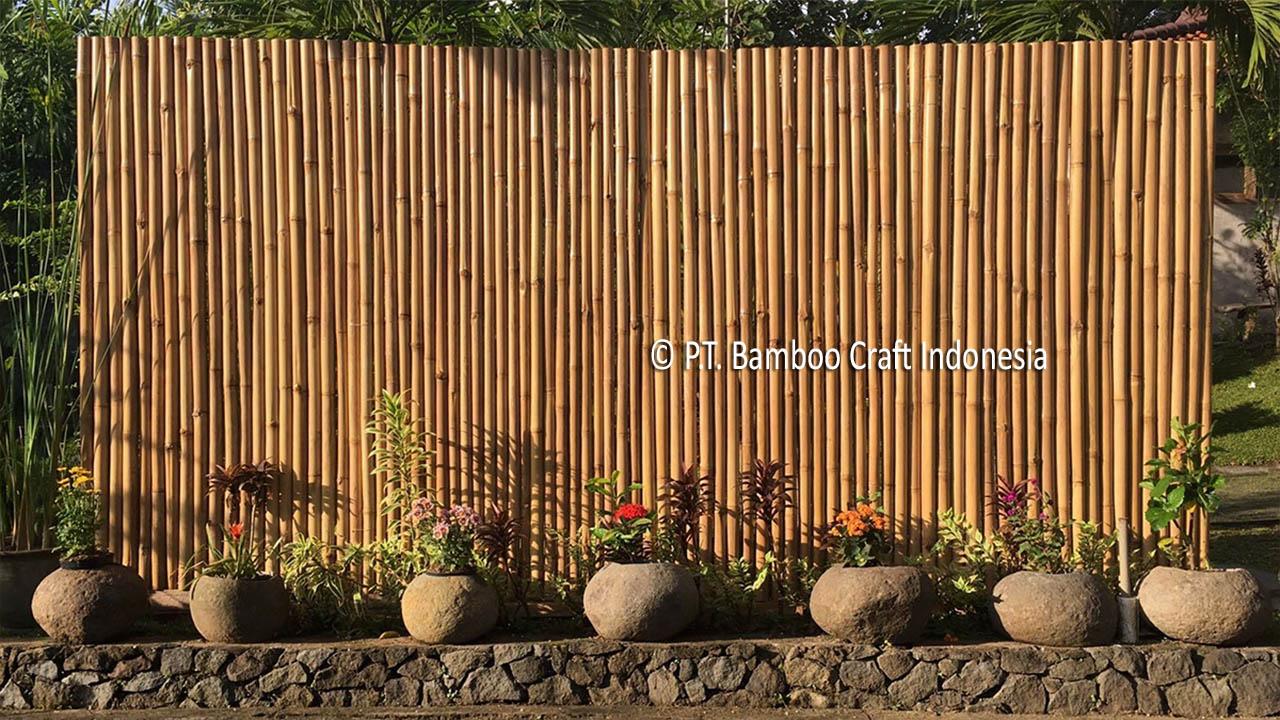 Bamboo Fence Yogyakarta
