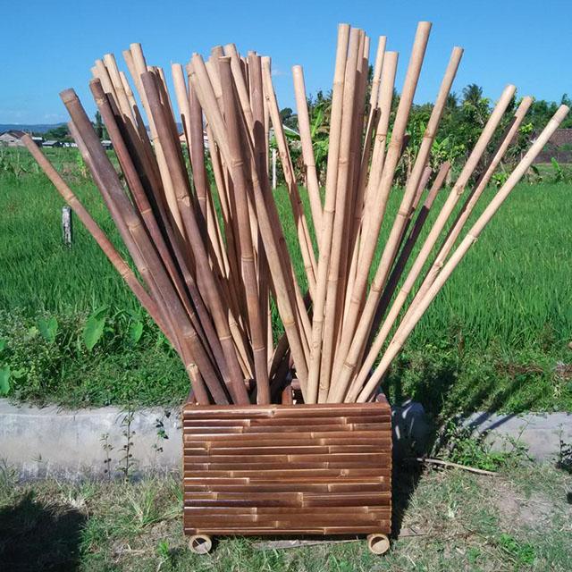 Bamboo Poles Yogyakarta